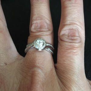 10k White Gold 1/2 Carat Diamond Ring 🌹